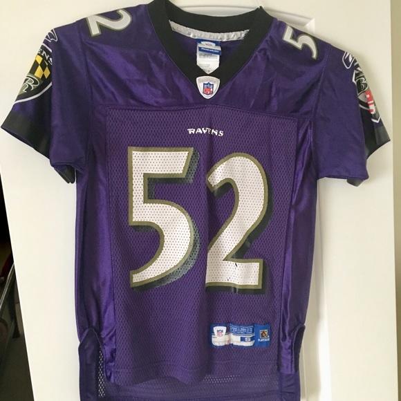 7580b5b5 Kids Baltimore Ravens Football Jersey Ray Lewis